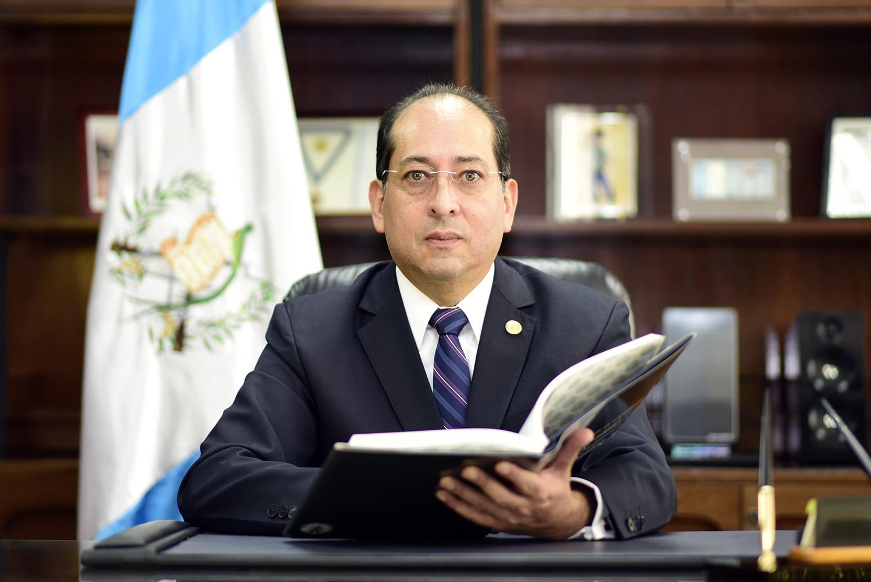 Sergio Recinos, presidente del Banguat
