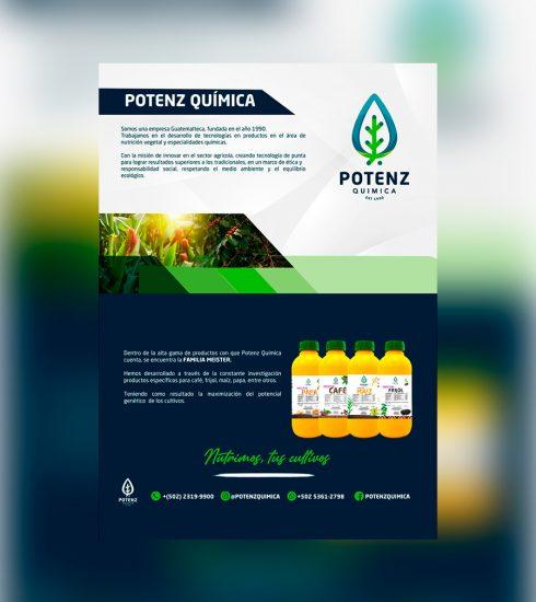 Nutrimos, tus cultivos Potenz Química